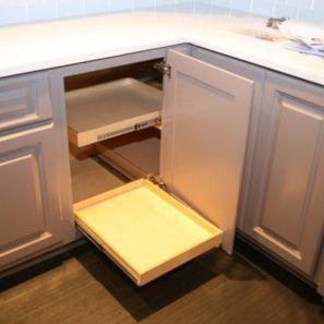 Corner kitchen cabinet storage 61