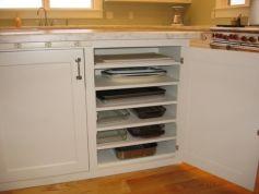 Corner kitchen cabinet storage 64