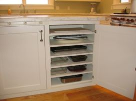 Corner kitchen cabinet storage 64