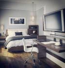 Creative apartment decorations ideas for guys 84