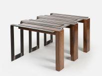 Creative metal and wood furniture 02