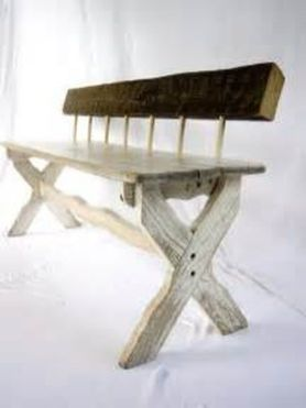 Creative metal and wood furniture 06