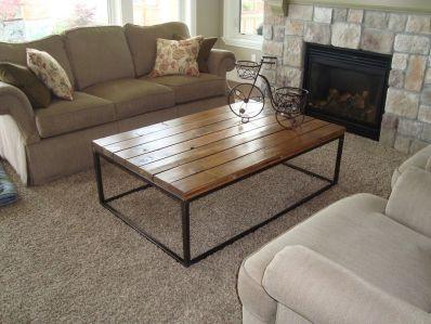 Creative metal and wood furniture 12