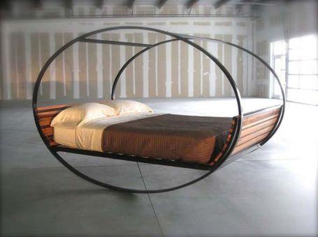 Creative metal and wood furniture 14