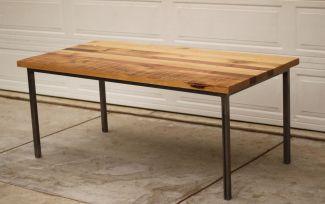 Creative metal and wood furniture 18