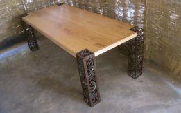Creative metal and wood furniture 20