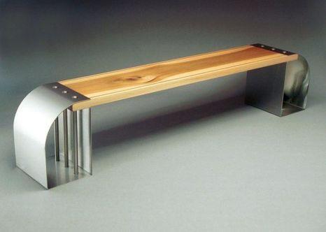 Creative metal and wood furniture 24
