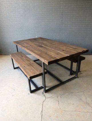Creative metal and wood furniture 31