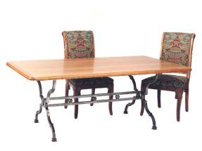 Creative metal and wood furniture 35