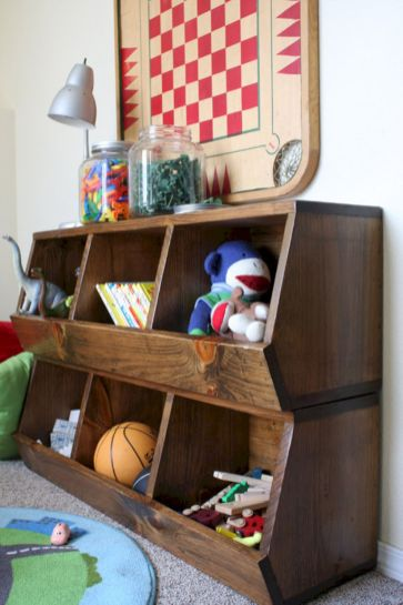 Creative toy storage ideas for living room 28