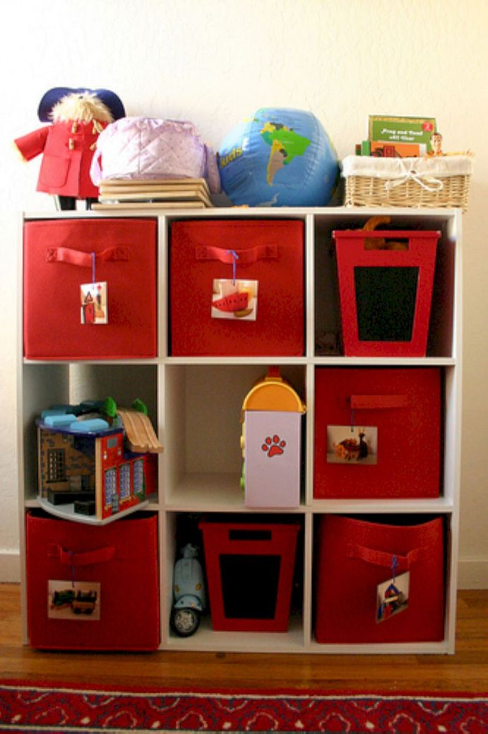 Creative toy storage ideas for living room 44