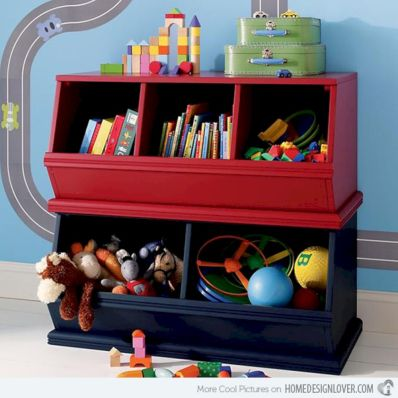 Creative toy storage ideas for living room 57