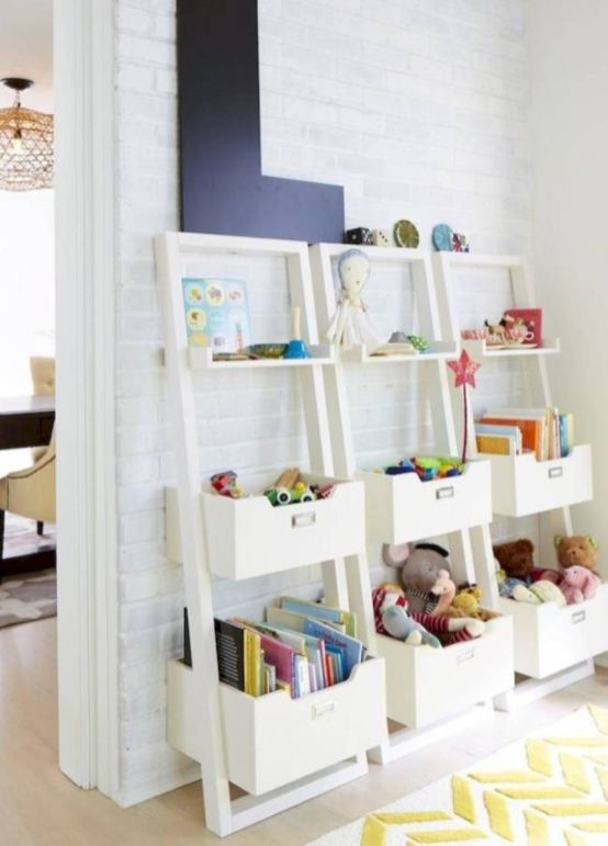 Creative toy storage ideas for living room 61