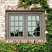 Exterior paint color ideas with red brick 09
