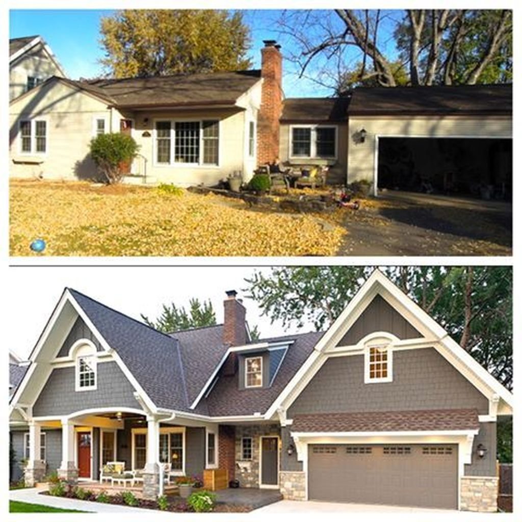 Exterior paint color ideas with red brick 14