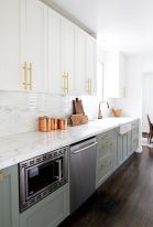 Gray color kitchen cabinets 16