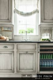 Gray color kitchen cabinets 45