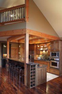 Half wall kitchen designs 24