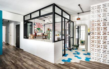 Half wall kitchen designs 29
