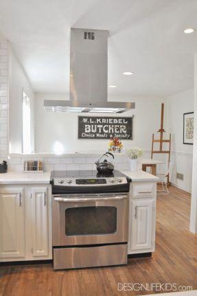 Half wall kitchen designs 39