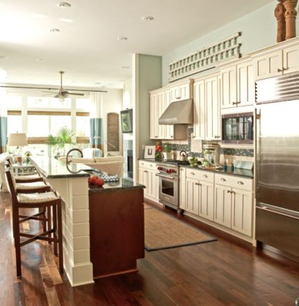 Half wall kitchen designs 47