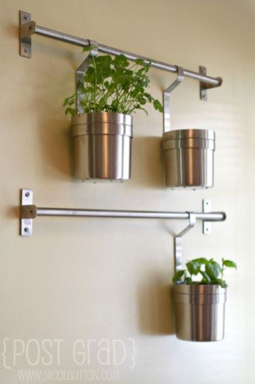 Incredible indoor hanging herb garden (12)
