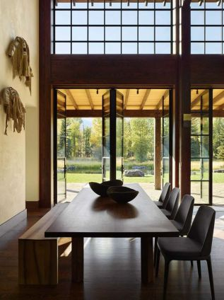 Incredible rustic dining room ideas 55
