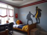 Inspiring bedroom design ideas for boy who loves basketball 06