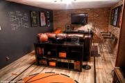 Inspiring bedroom design ideas for boy who loves basketball 08