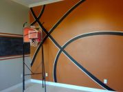 Inspiring bedroom design ideas for boy who loves basketball 29
