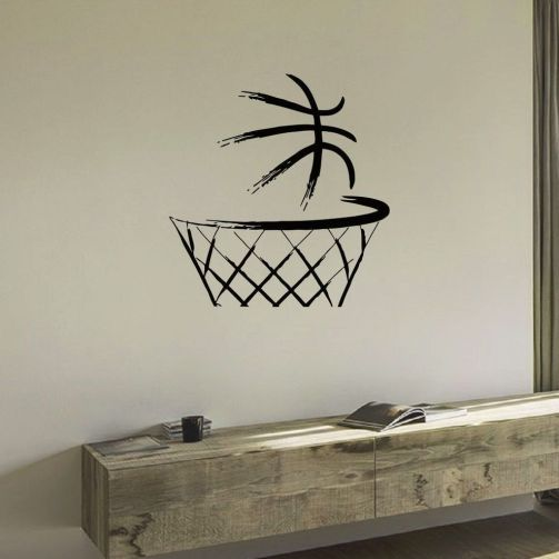 Inspiring bedroom design ideas for boy who loves basketball 71