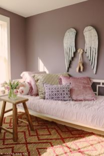 Inspiring bedroom design ideas for teenage girl 18