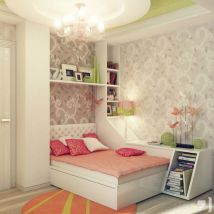 Inspiring bedroom design ideas for teenage girl 46