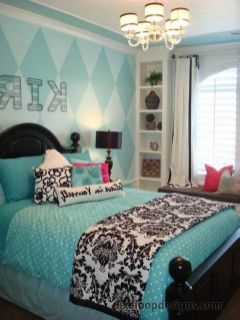 Inspiring bedroom design ideas for teenage girl 92