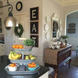 Inspiring kitchen wall art ideas 17