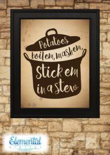 Inspiring kitchen wall art ideas 42