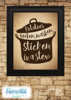Inspiring kitchen wall art ideas 42
