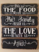 Inspiring kitchen wall art ideas 48