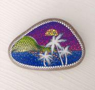 Inspiring painted rocks for garden ideas (11)