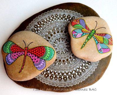 Inspiring painted rocks for garden ideas (14)
