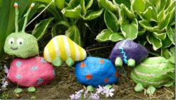 Inspiring painted rocks for garden ideas (20)