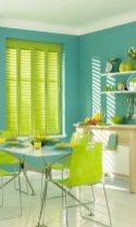 Kitchens design ideas with green walls 41