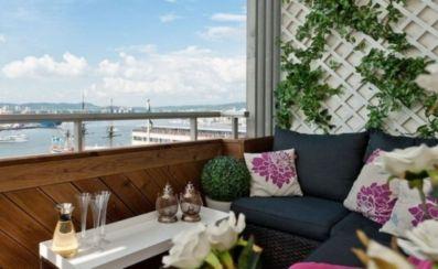 Modern apartment balcony decorating ideas 16