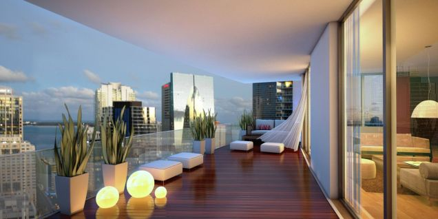 Modern apartment balcony decorating ideas 37
