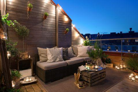 Modern apartment balcony decorating ideas 40