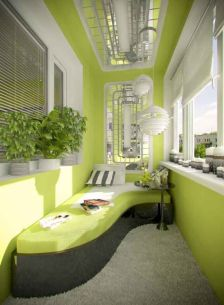 Modern apartment balcony decorating ideas 47