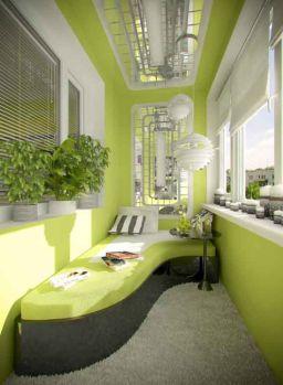 Modern apartment balcony decorating ideas 47