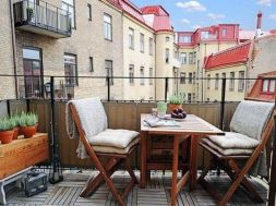 Modern apartment balcony decorating ideas 60