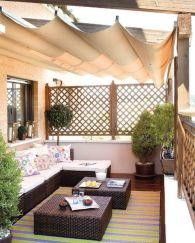 Modern apartment balcony decorating ideas 71