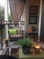 Modern apartment balcony decorating ideas 74